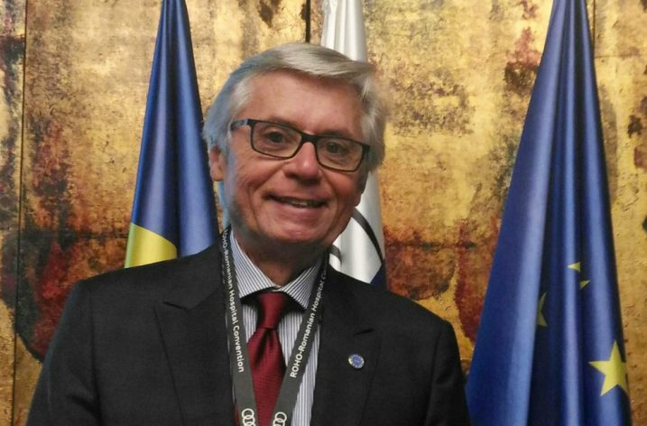 Historical recognition of UEMO's President Aldo Lupo by the Royal College of Family Practitioners