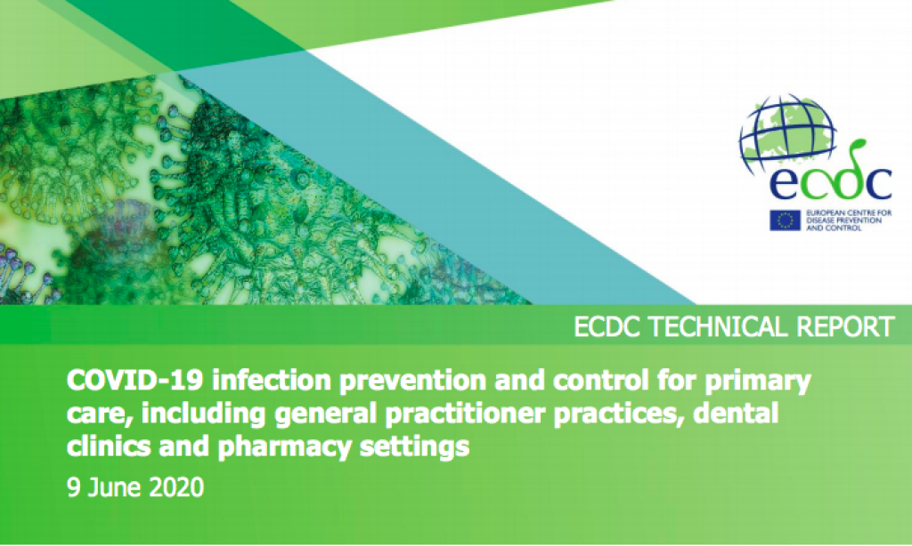 ECDC published technical report on infection control based on feedback from UEMO