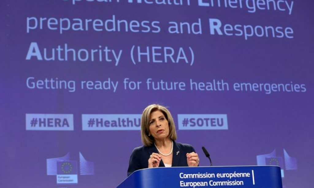 Commission launches European Health Emergency preparedness and Response Authority (HERA)